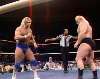 WCW / NWA Starrcade 1988 - True Gritt - Kevin Sullivan & Dr. Death vs. The Fantastics
