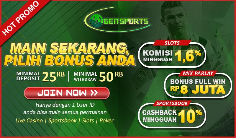 Agensports Bonus rollingan slot-poker-live-casino-parlay