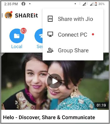 shareit for jiophone