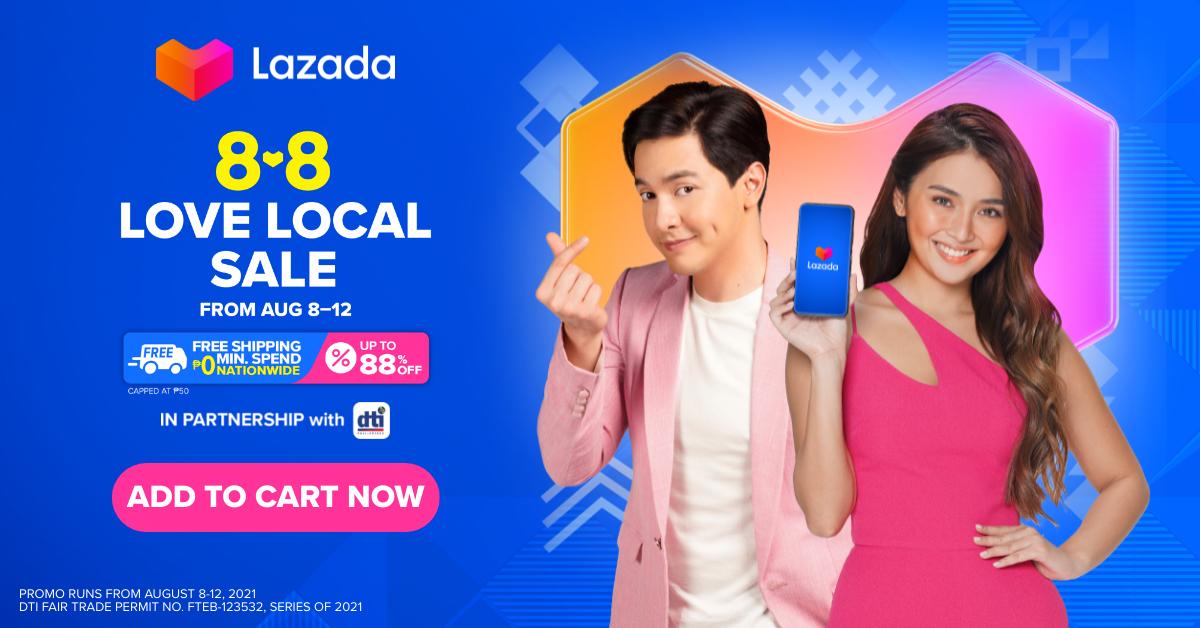Lazada 8.8 Love Local Sale