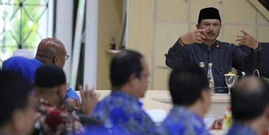 Walikota Madiun Pimpin Rakor Bersama OPD