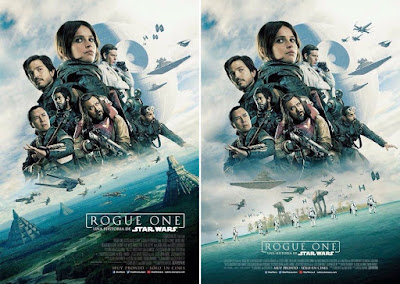 Star Wars: Rogue One International Theatrical One Sheet Movie Posters