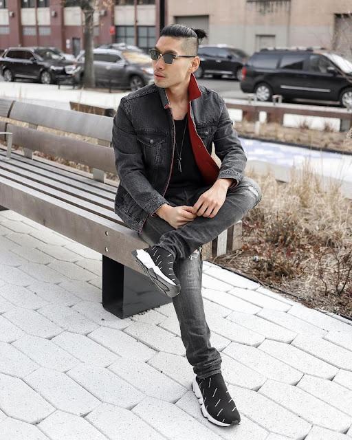 Winter Style Roundup for Men - Levis Reversible Jacket Leo Chan