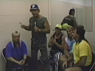 Smoky Mountain Wrestling - Fire on the Mountain 1993 Review - Armstrong's Army cut a backstage promo before facing Cornette's Criminals