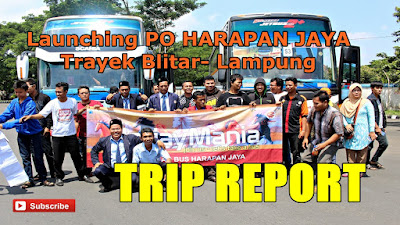 Launching Harapan Jaya Lampung Trip Report