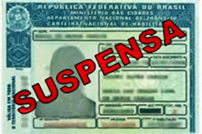 Detran notifica 100 condutores que podem ter o direito de dirigir suspenso no Rio Grande do Norte