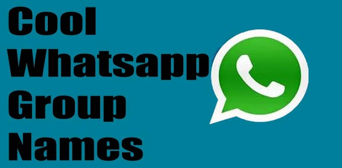 Cool whatsapp group names - What are some good group names