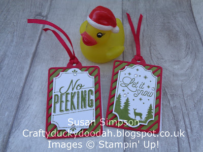 Stampin' Up! UK Independent  Demonstrator Susan Simpson, Craftyduckydoodah!, Merry Little Labels, November Coffee & Cards Project 2017, Supplies available 24/7 from my online store,