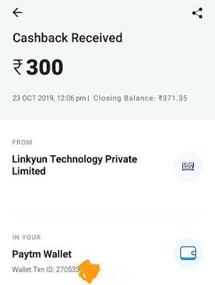 Videobuddy paytm cash payment proof