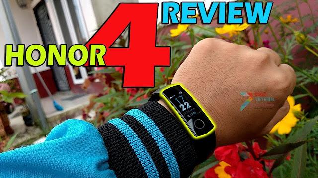 400rb-an Dapat Smartband AMOLED Review Huawei Honor 4 Bracelet  Saingan Mi Band 3