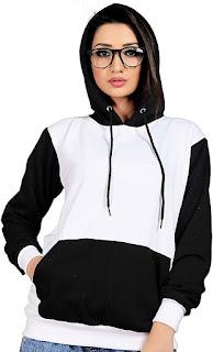 Multi Colored Cotton Hoodies/Sweatshirt/Graphic Printed Hoodie/Hoodie for Women