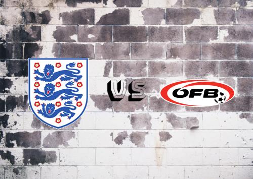Inglaterra vs Austria  Resumen y Partido Completo