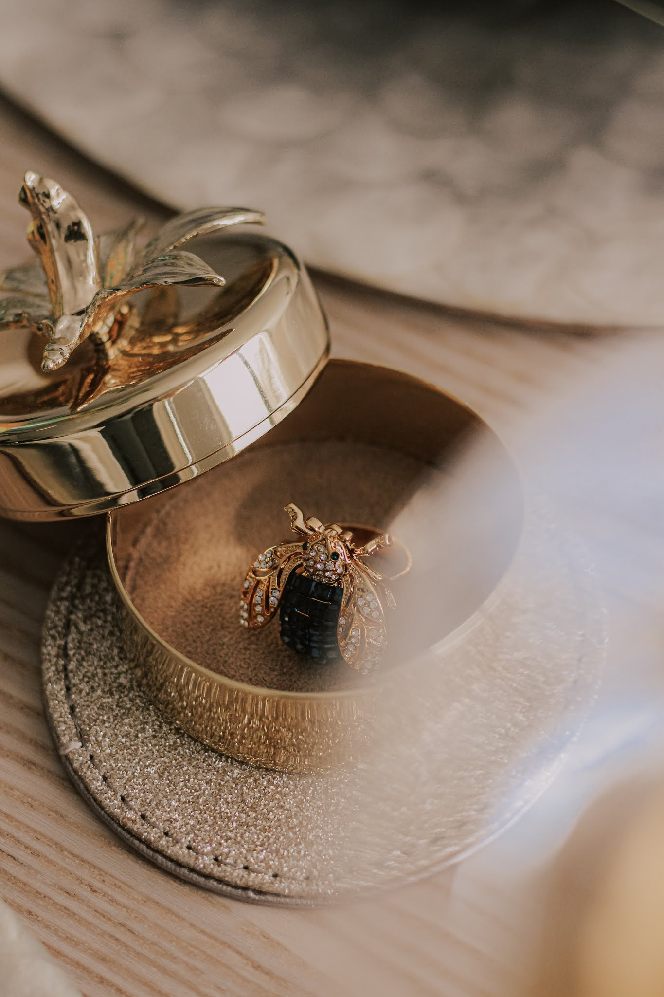 Joanna Buchanan Sparkle Bee Ring