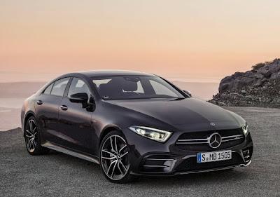 Black Mercedes-AMG CLS 53