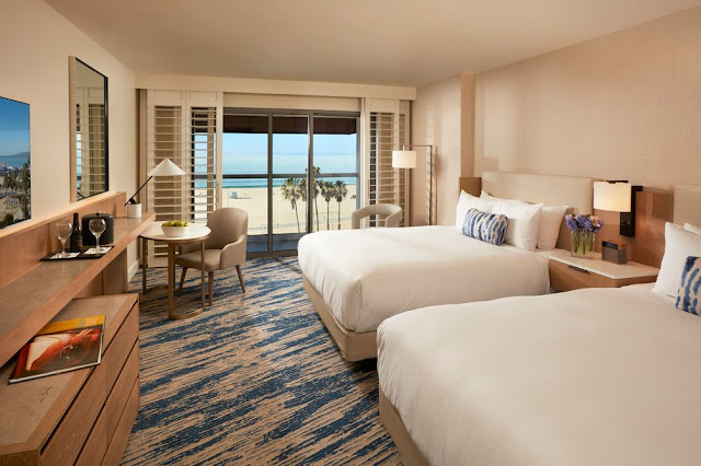 Visit Loews Santa Monica Beach Hotel, a beachfront hotel near Santa Monica Pier offering well-appointed amenities in a family-friendly environment.