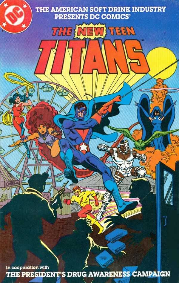 New Teen Titans Comic