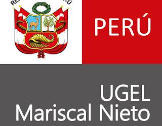 CONVOCATORIA UGEL MARISCAL NIETO: 3 VACANTES