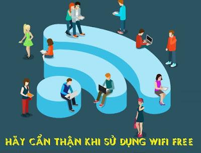 Tại sao WiFi công cộng không an toàn ?