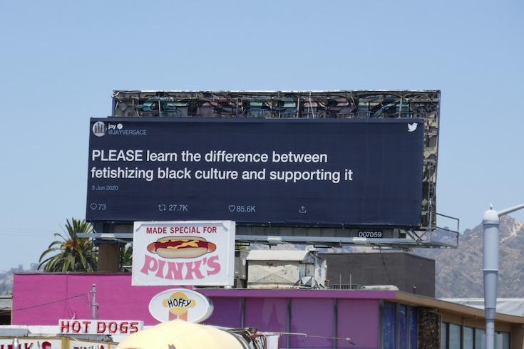 learn difference Black Lives Matter Twitter billboard