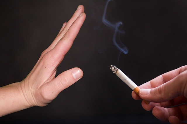acupuncture; smokers; smoking; quit; needles; habit; time