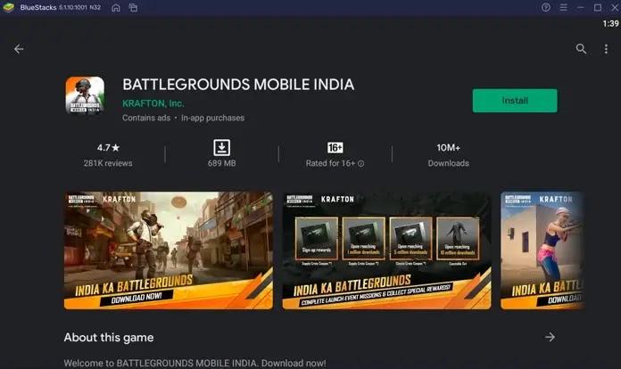 تحميل ببجي الهندية للاندرويد و الآيفون. PUBG Mobile India