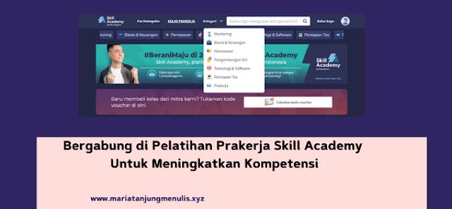 pelatihan prakerja Skill Academy