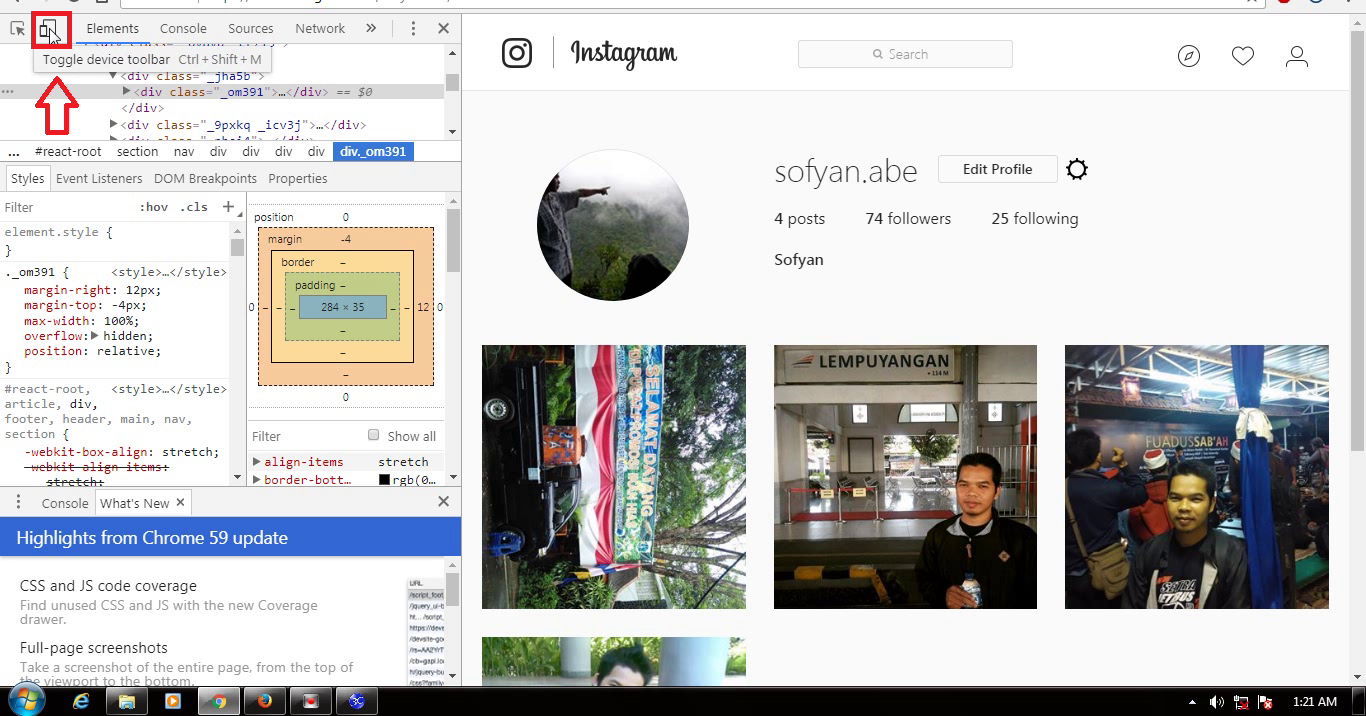 How to post Instagram From PC ( Without Android )