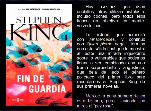 Fin de Guardia de Stephen King