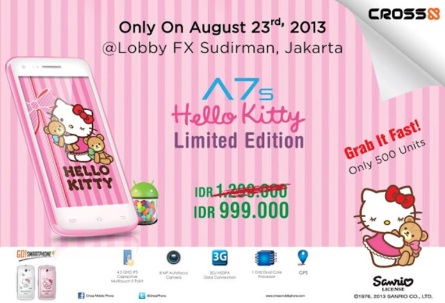 CROSS A7S Hello Kitty Besok Dilaunching