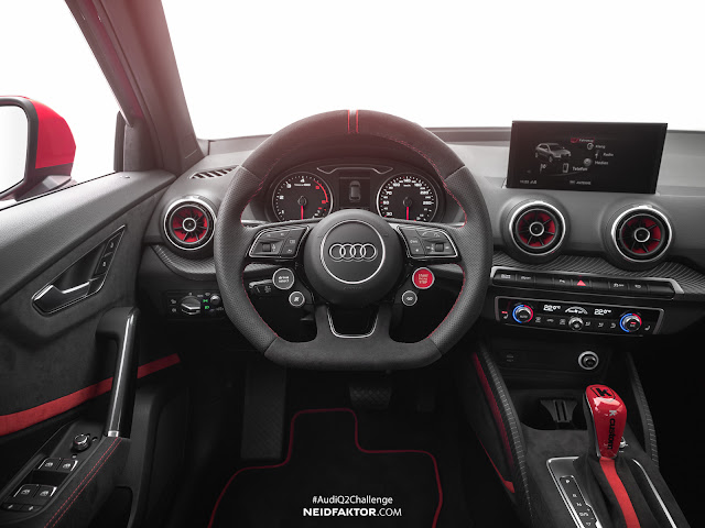 2017 Audi Q2 Interior by Neidfaktor - #Audi #Q2 #Neidfaktor #tuning