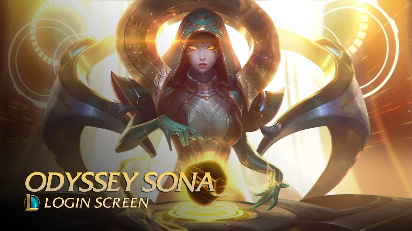 Odyssey Sona Animated 4K | League of Legends [Wallpaper Engine Free]