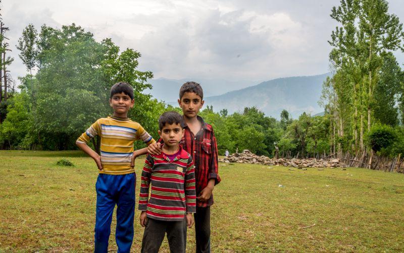 Kids at Lolab were camera Friendly