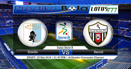 Prediksi Virtus Entella Vs Ascoli 25 May 2018