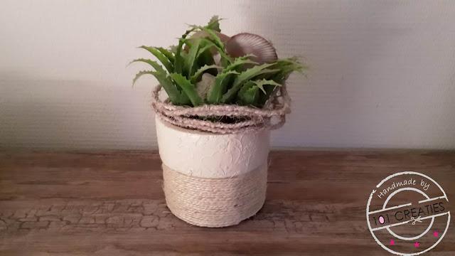 gepimpte plantenpot