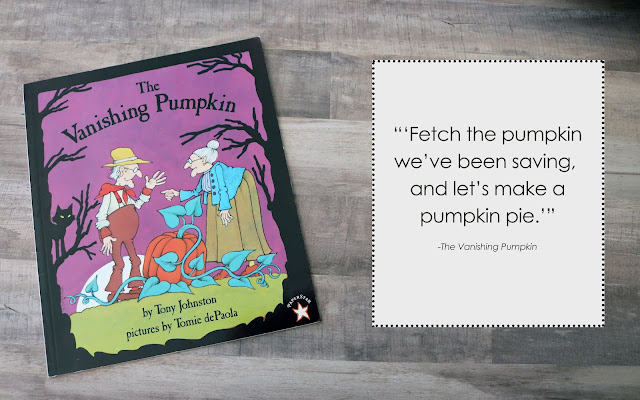 Vanishing Pumpkin Book