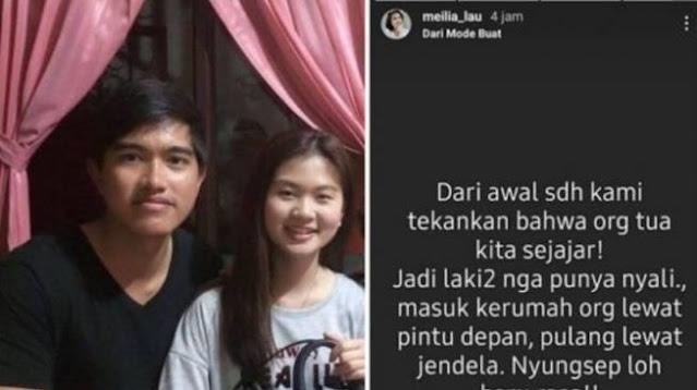 Kaesang Berkali-kali Janji Mau Nikahi Felicia Tissue, Sudah Melamar