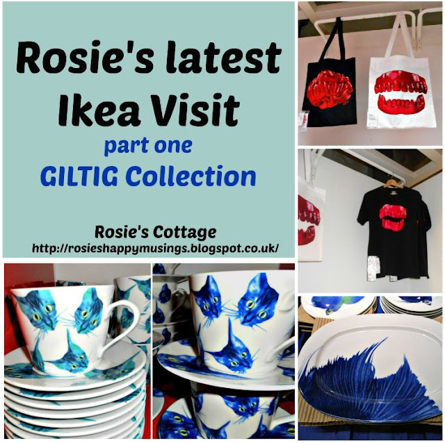 Rosies Latest Ikea Visit - GILTIG Collection