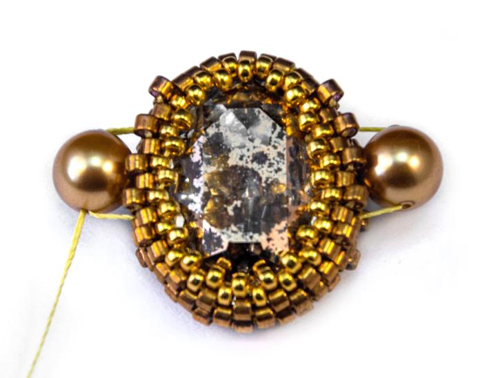 мк серьги с овальными кристаллами Сваровски