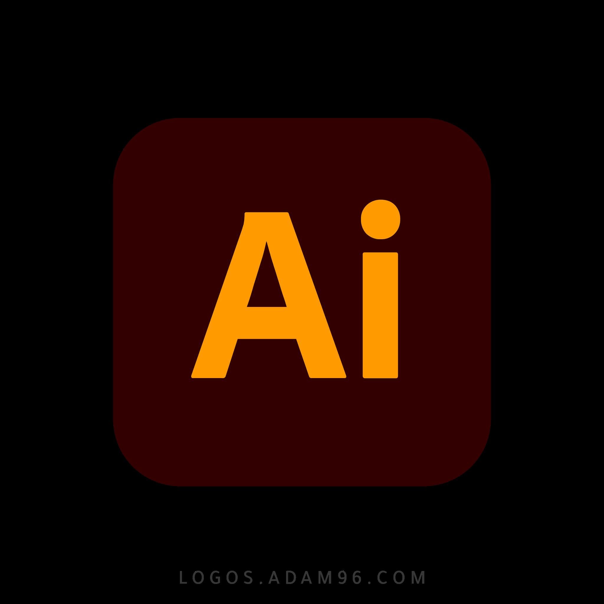 تحميل شعار أدوبي إليستريتور لوجو رسمي عالي الجودة PNG