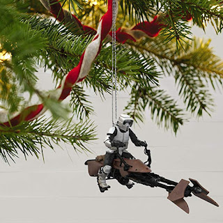 A Wild Ride on Endor - Star Wars Christmas Ornament