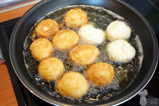 Buñuelos de queso con chocolate (la receta más fácil)