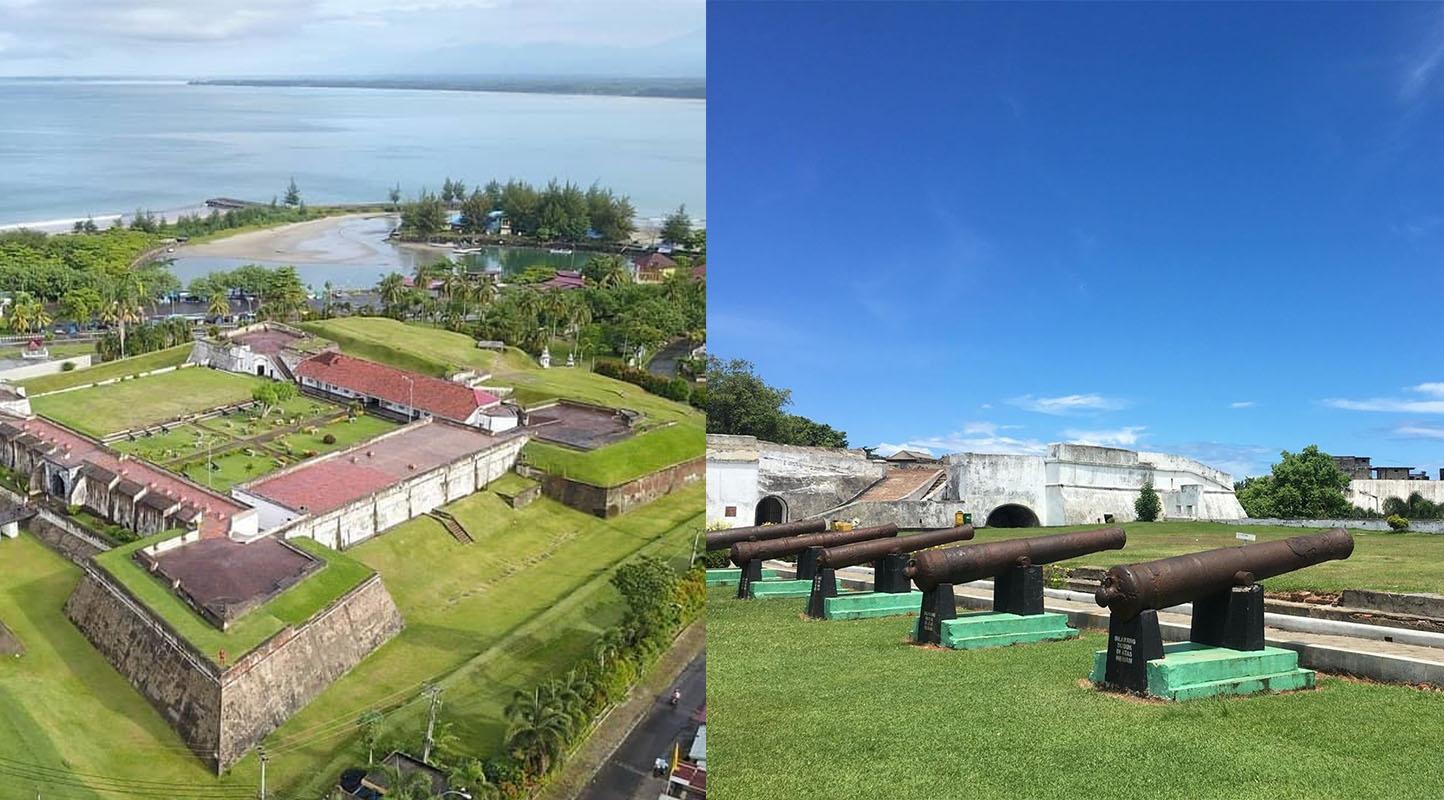 Benteng Marlborough Di Bengkulu