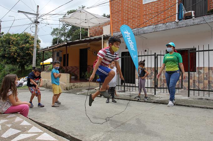 Más de 10.000 personas se beneficiarán con cuadras recreativas de PL y PP del INDER Medellín