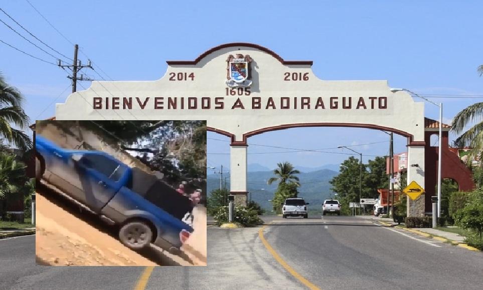 Video muestra a Sicarios del Cártel de Sinaloa vigilando  las calles de Badiraguato ante la amenaza de que la contra invada el territorio