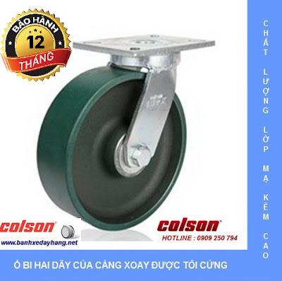 Báo giá bánh xe chịu lực Colson Mỹ tại An Giang www.banhxeday.xyz