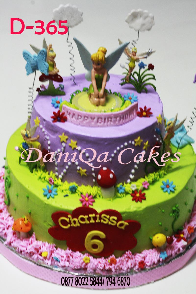 Daniqa Cake And Snack Kue Ulang Tahun Tinkerbell