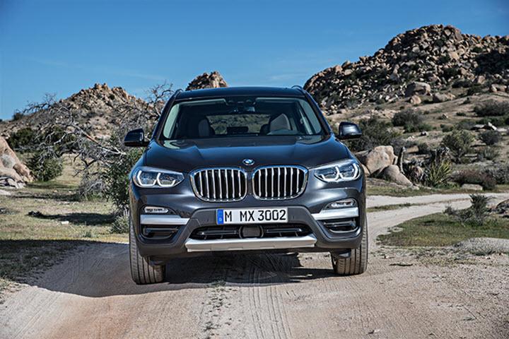 Thaco ưu đãi khách mua BMW Series 5 và X3