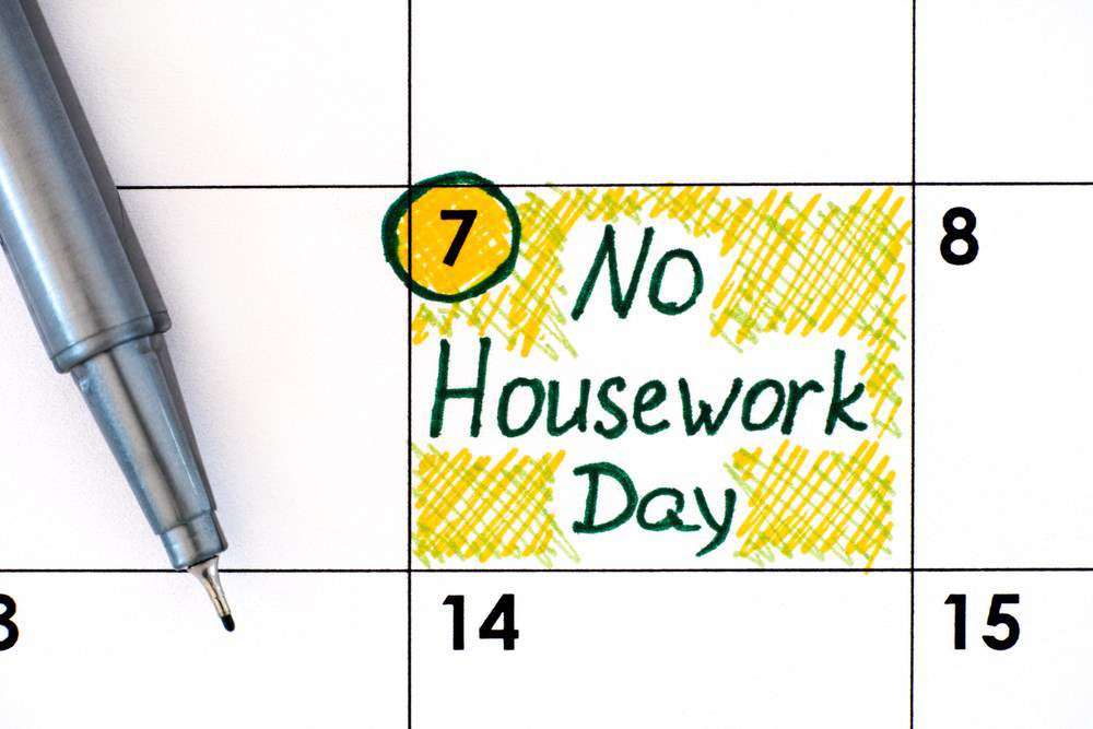 National No Housework Day Wishes Lovely Pics