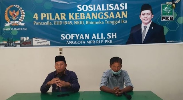 Sofyan Ali Sosialisasikan 4 Pilar Kebangsaan