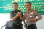 Ini Bukti Sinergitas TNI-POLRI Di Kabupaten Kepulauan Selayar